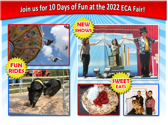 Join us for FUN at the ECA Fair